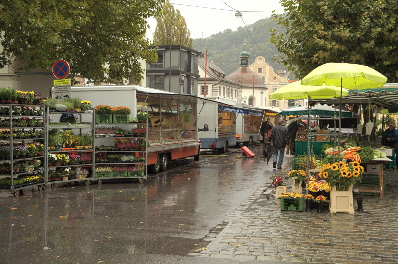 Bregenz Austria  City new picture : Food market, Bregenz / Austria Food & Farmers' Markets