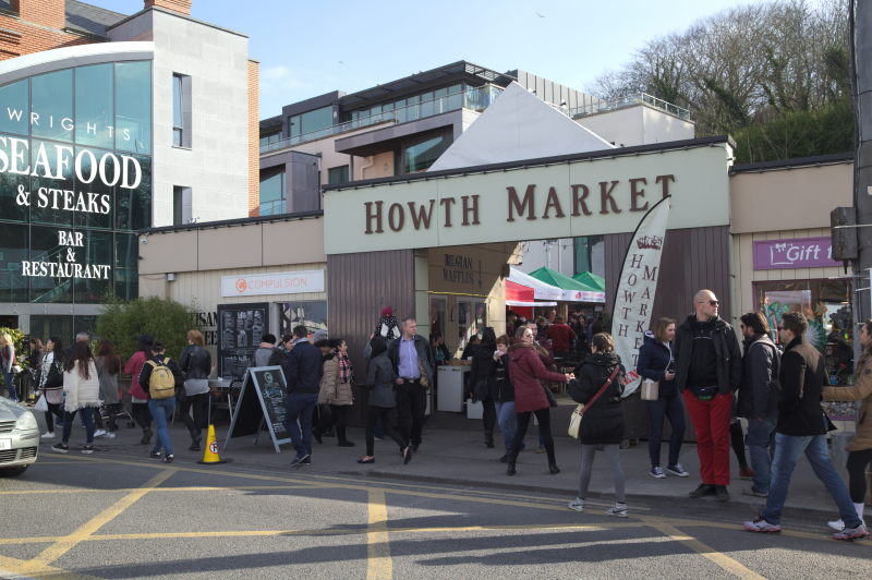 Getting to Howth Market