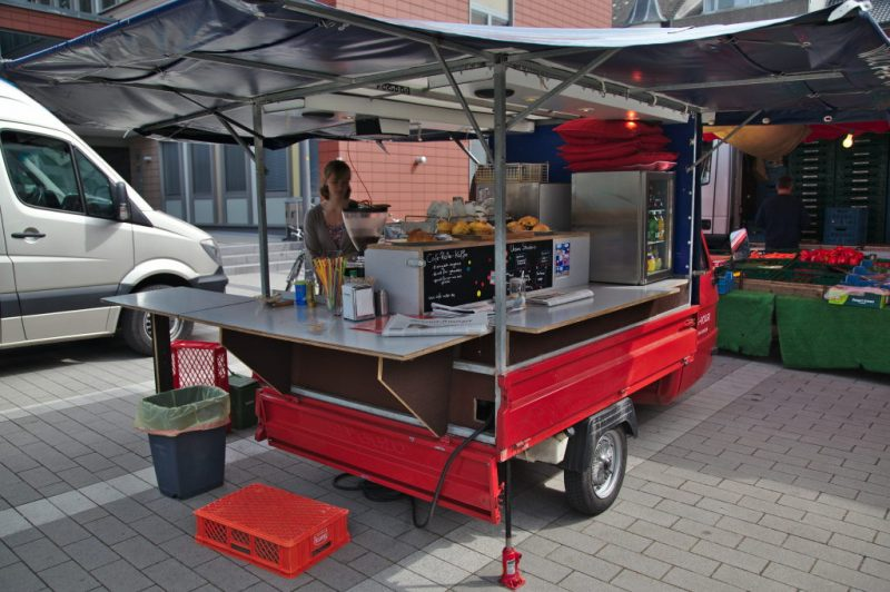 The mobile coffee shop