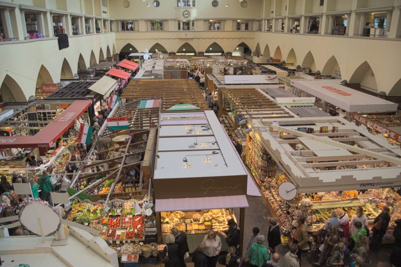 Market hall Stuttgart - view from the top