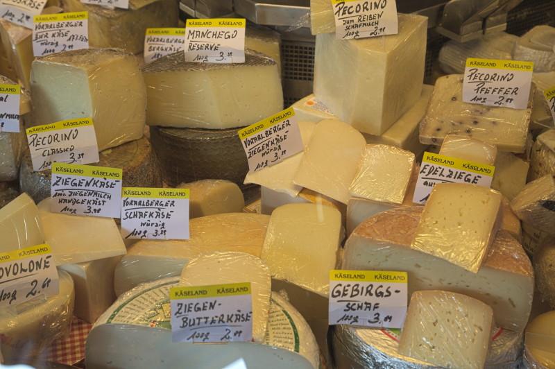 Austrian cheeses