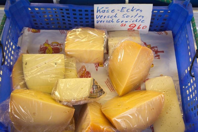 Cheese leftovers for sale