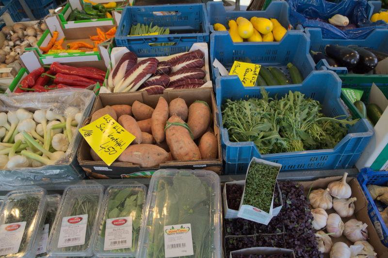 Veggie selection