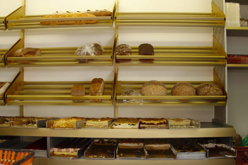 I came too late, bakery shelves are empty