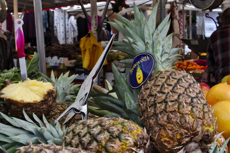 I bought a pineapple at Cologne Nippes Market